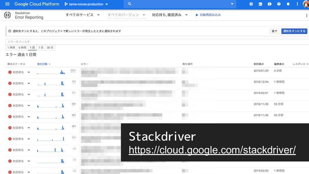 Stackdriver https://cloud.google.com/stackdrive...