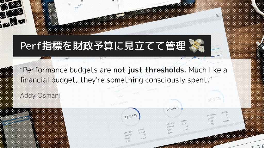 """Performance budgets are not just thresholds. M..."