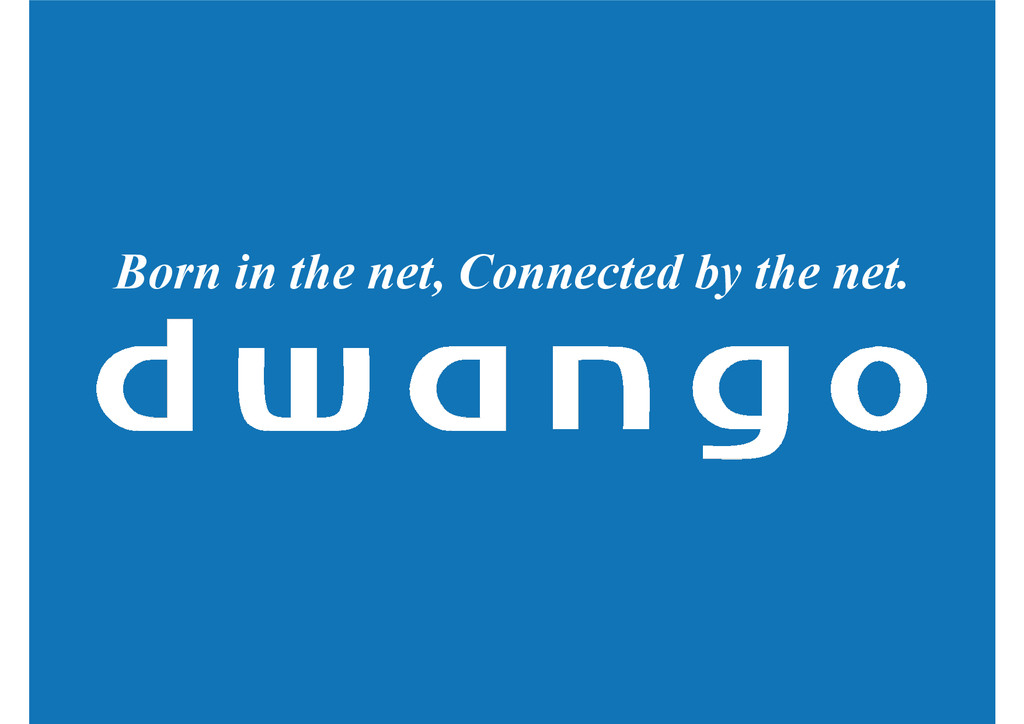 Born in the net, Connected by the net.