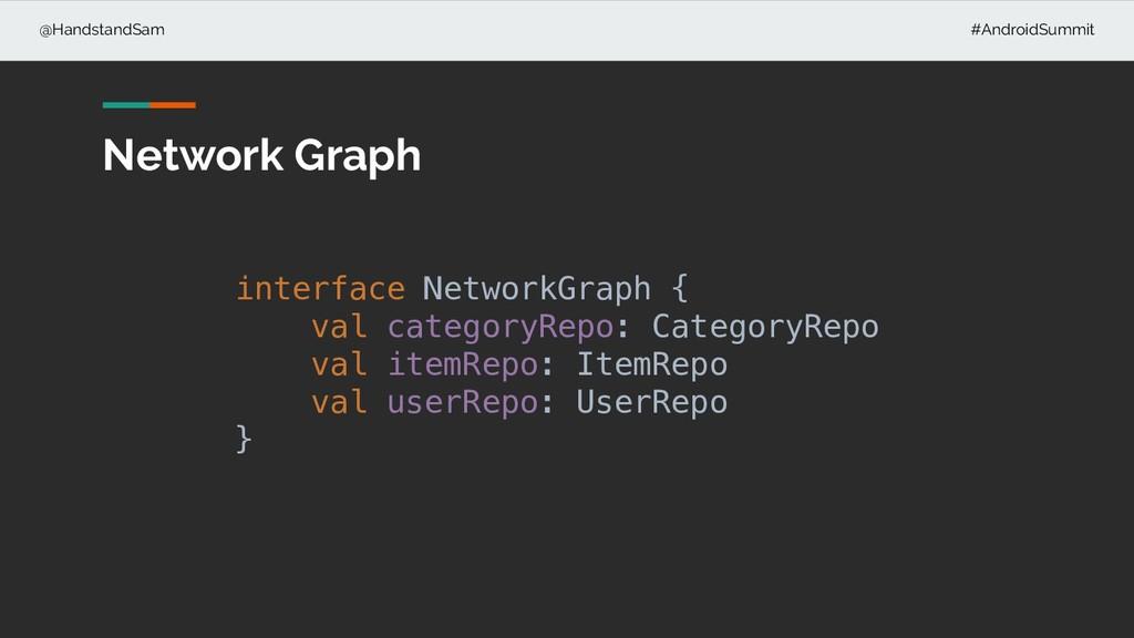 @HandstandSam #AndroidSummit Network Graph inte...