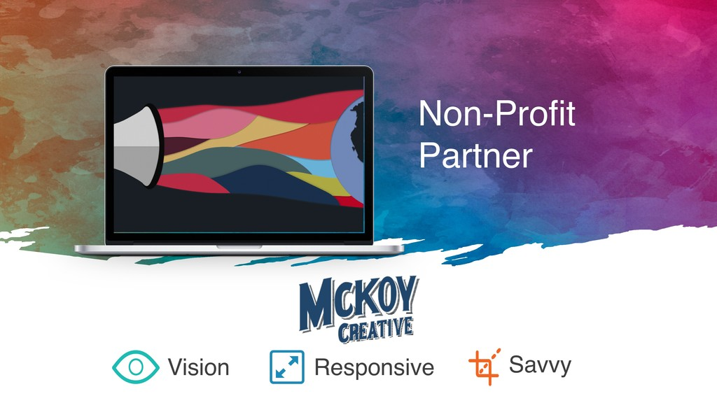 Non-Profit Partner Vision Responsive Savvy