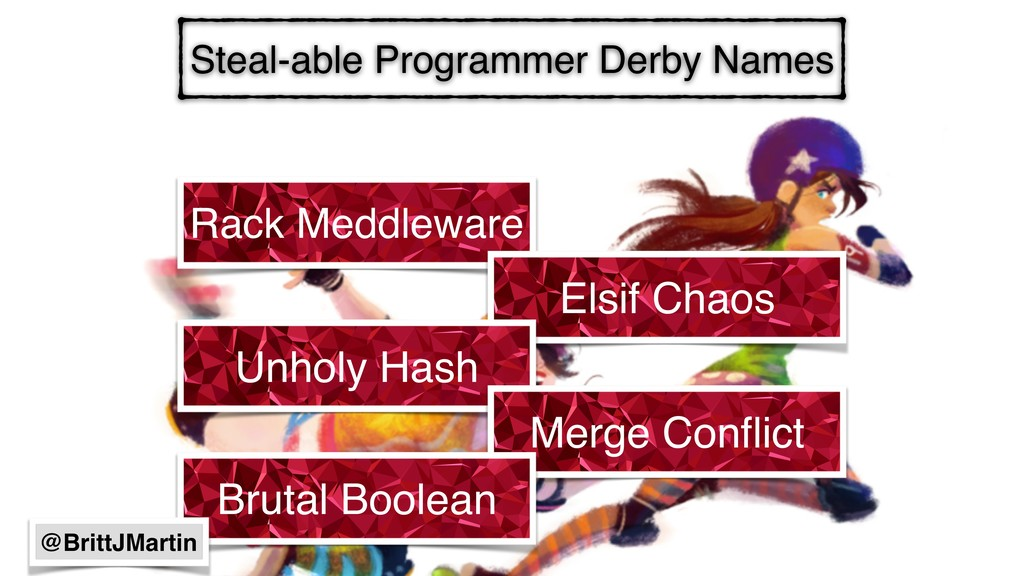 Steal-able Programmer Derby Names Rack Meddlewa...
