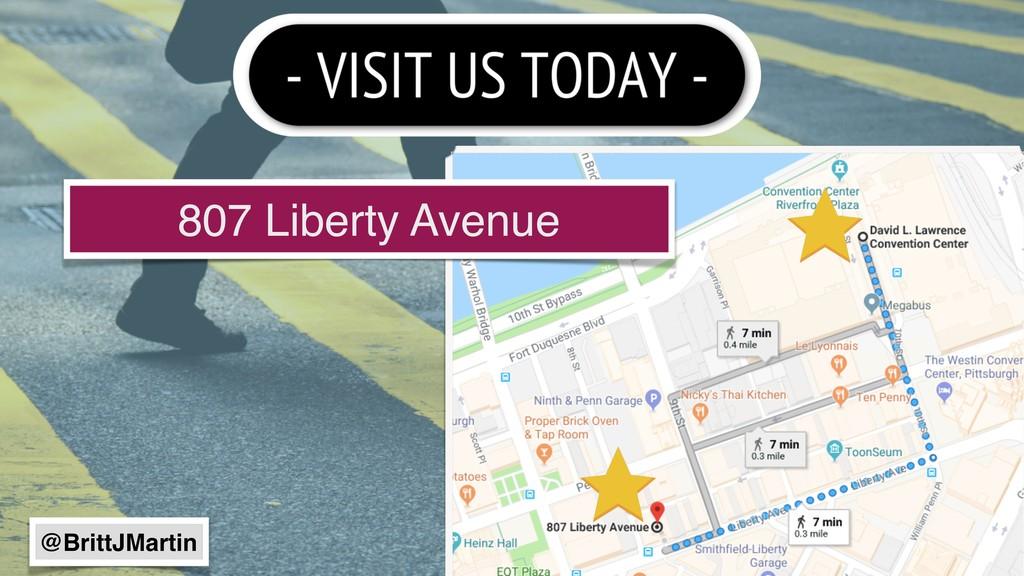 807 Liberty Avenue @BrittJMartin