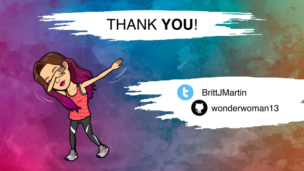 THANK YOU! BrittJMartin wonderwoman13