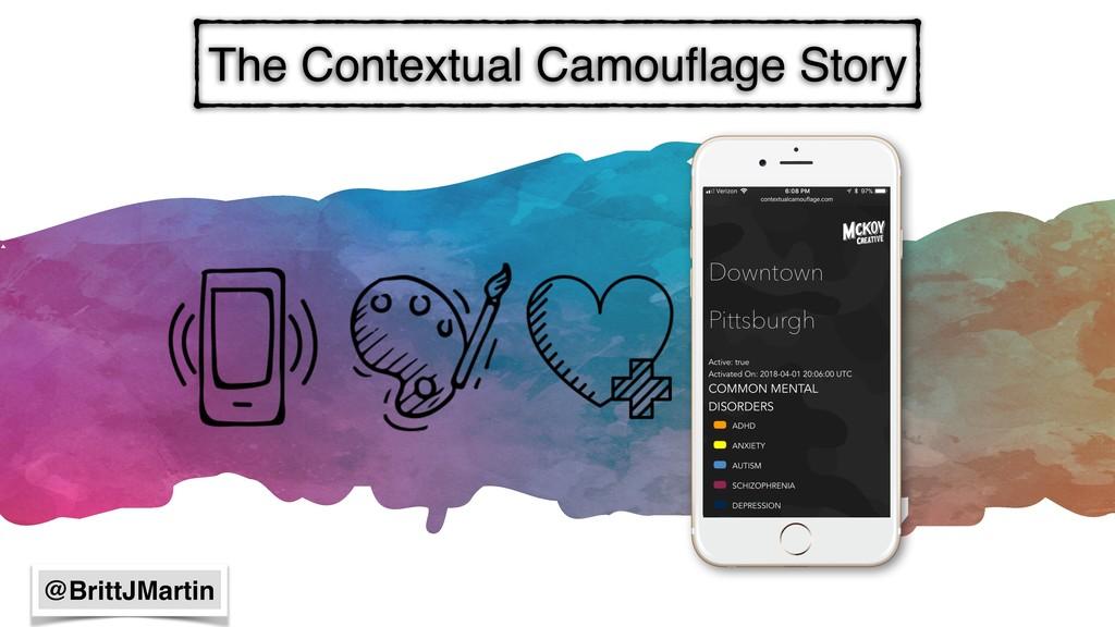 The Contextual Camouflage Story @BrittJMartin