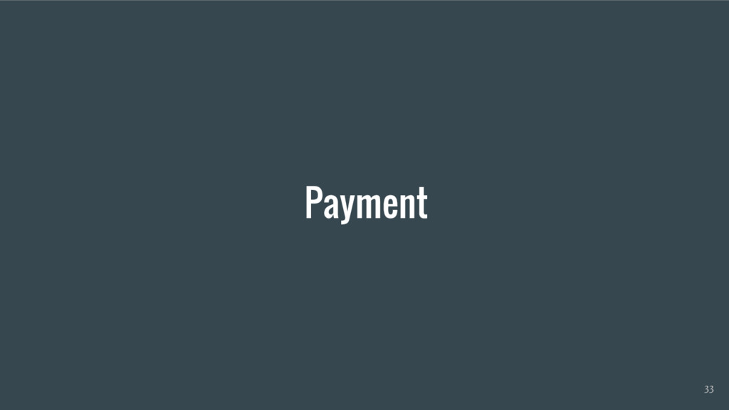 Payment 33