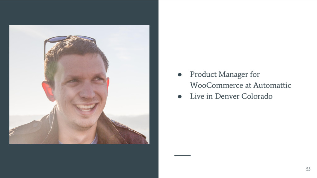 ● Product Manager for WooCommerce at Automattic...