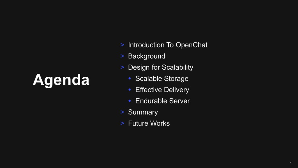 Agenda > Introduction To OpenChat > Background ...