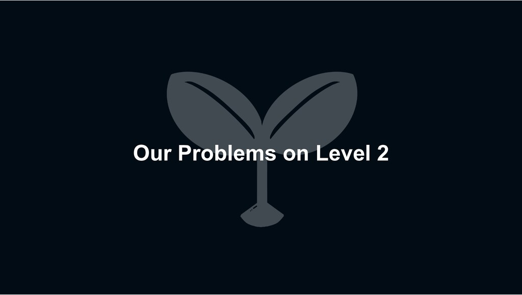 Our Problems on Level 2