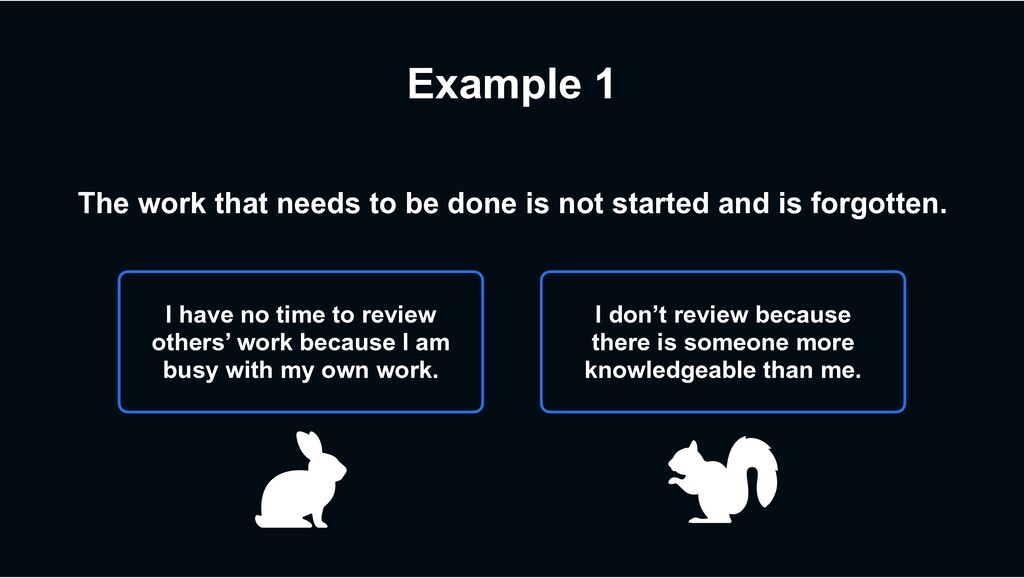 Example 1 I don't review because there is someo...