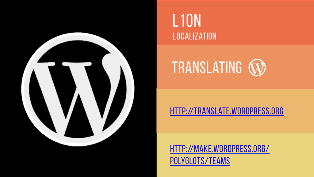 l10n Translating Localization http://translate....