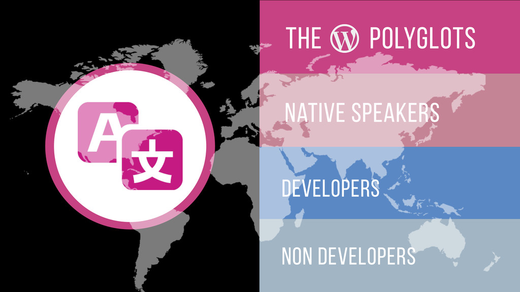 The native speakers developers non developers p...