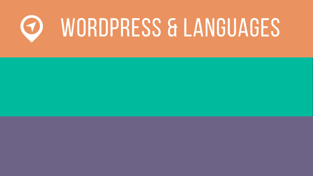 WOrdPress & languages