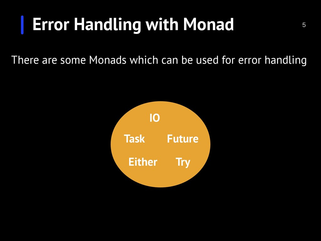 Error Handling with Monad  There are some Mona...