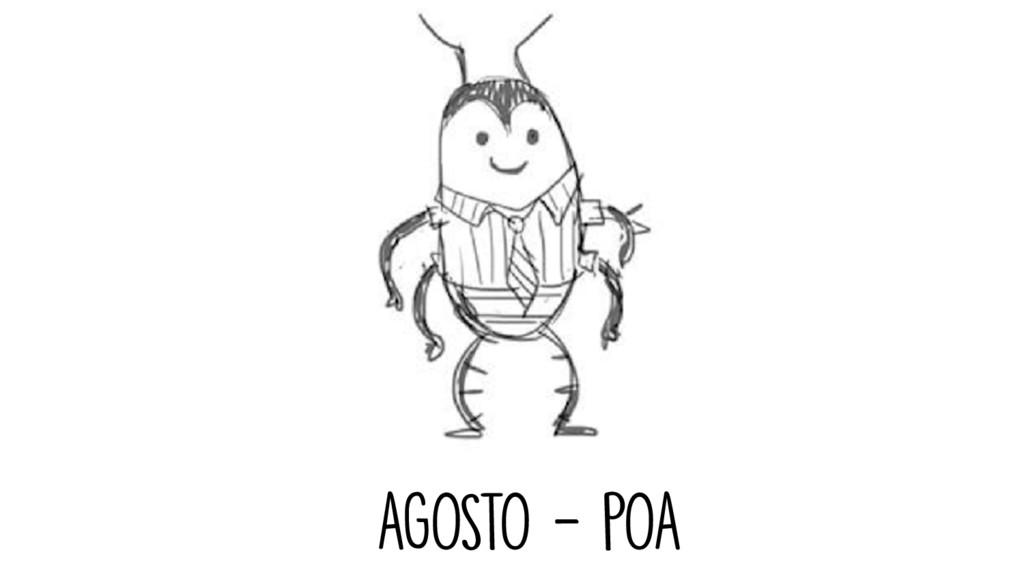 AGOSTO - POA