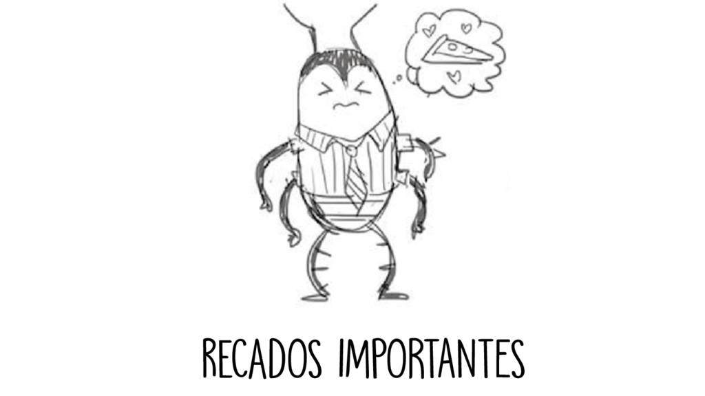 recadOS IMPORTANTES
