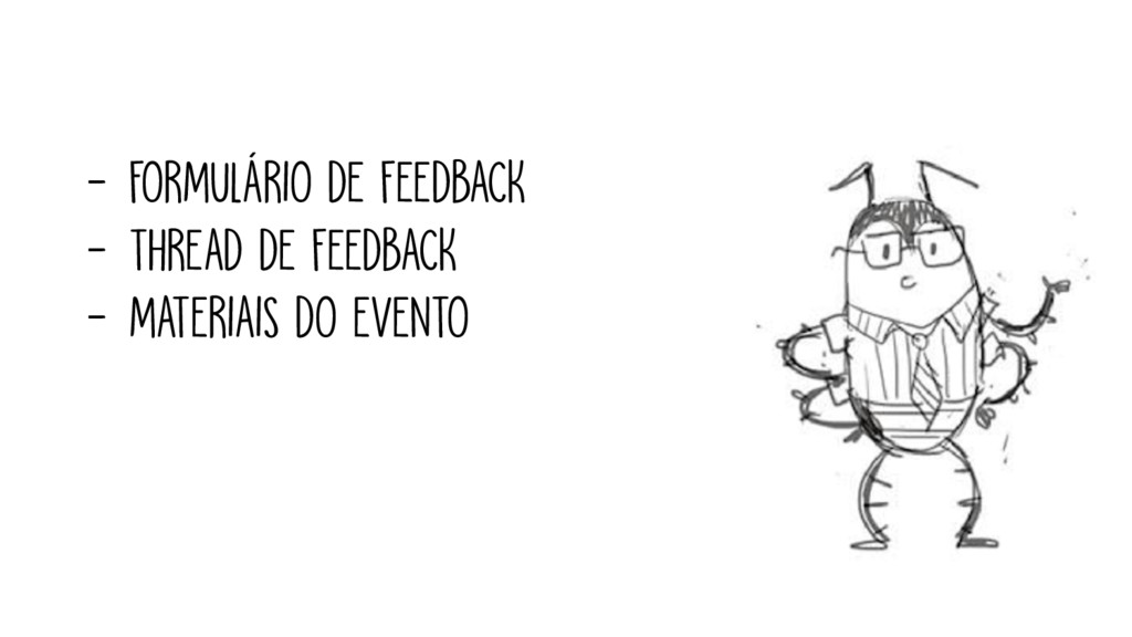- FORMULÁRIO DE FEEDBACK - THREAD DE FEEDBACK -...