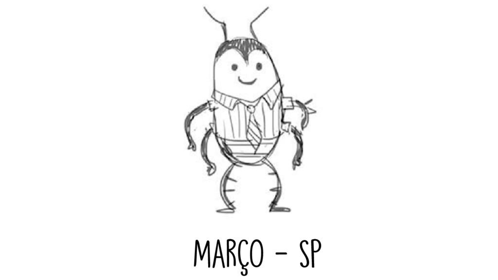 MarçO - SP