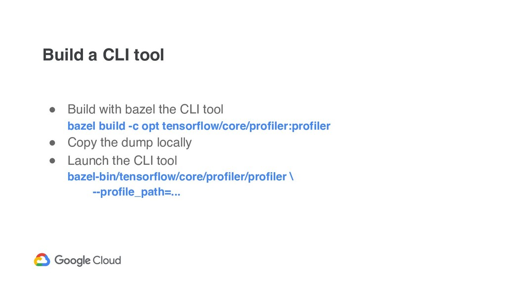Build a CLI tool ! Build with bazel the CLI too...