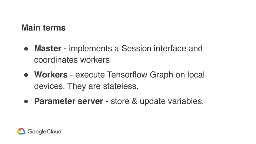 Main terms ! Master - implements a Session inte...