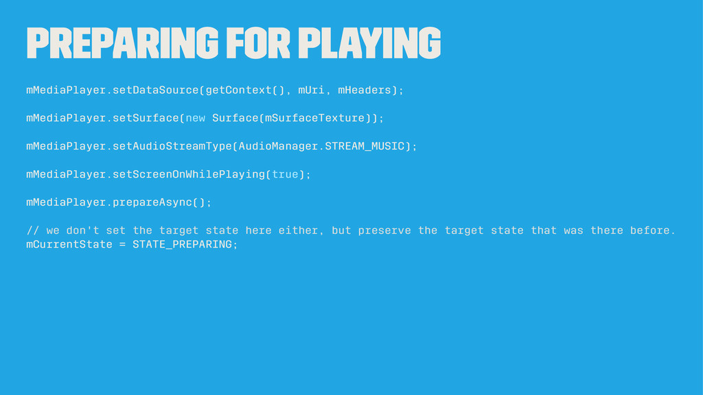 Preparing for playing mMediaPlayer.setDataSourc...
