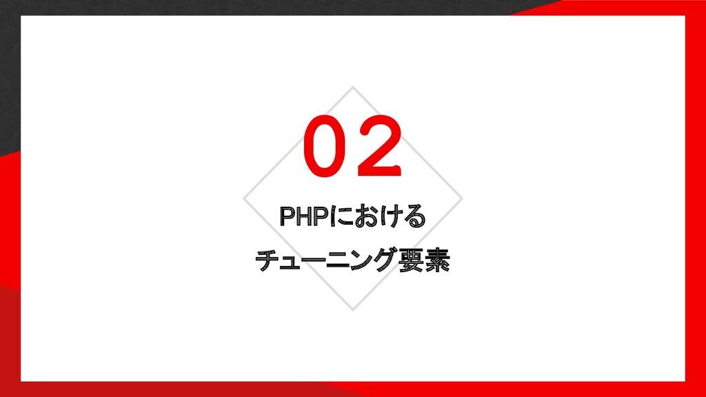 02 PHPにおける チューニング要素