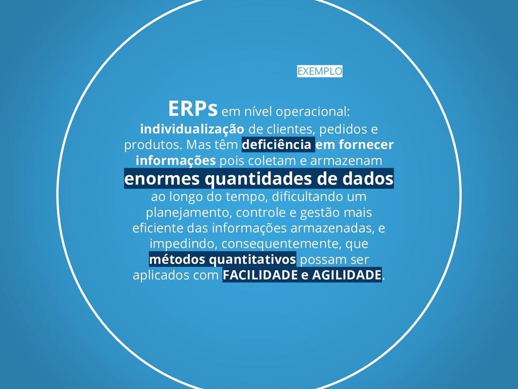ERPs em nível operacional: individualização de ...