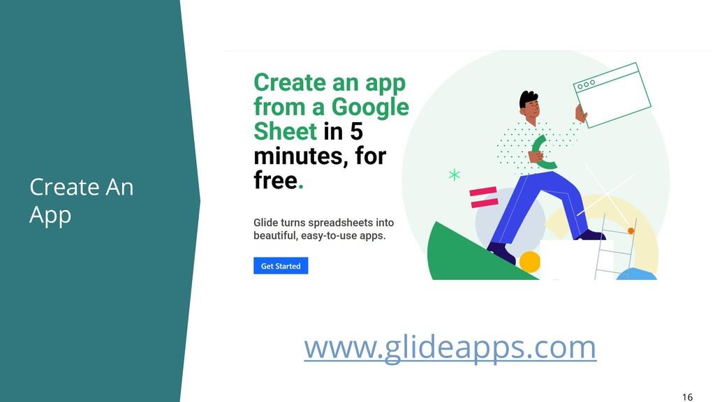 Create An App 16 www.glideapps.com