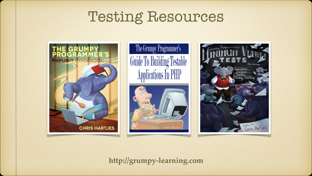 Testing Resources http://grumpy-learning.com