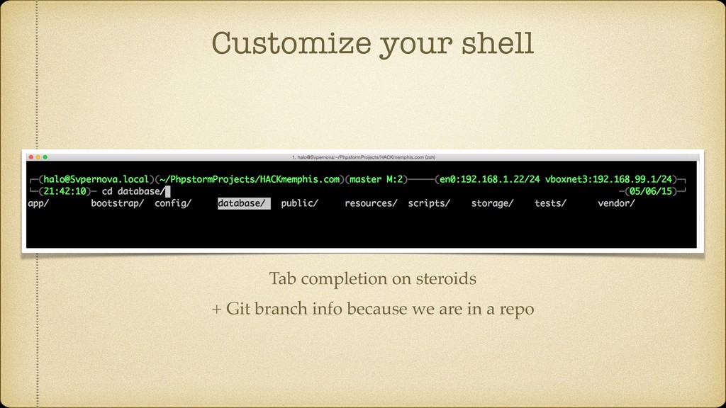 Customize your shell Tab completion on steroids...