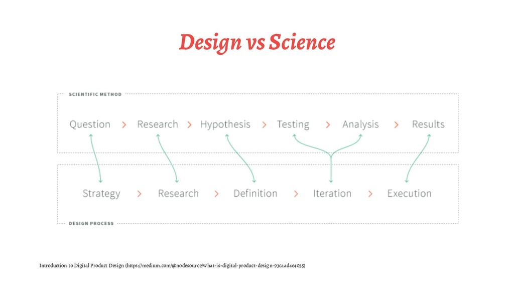 Design vs Science Introduction to Digital Produ...