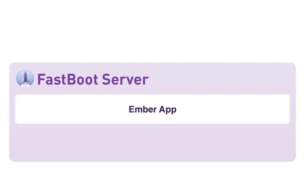 Ember App FastBoot Server