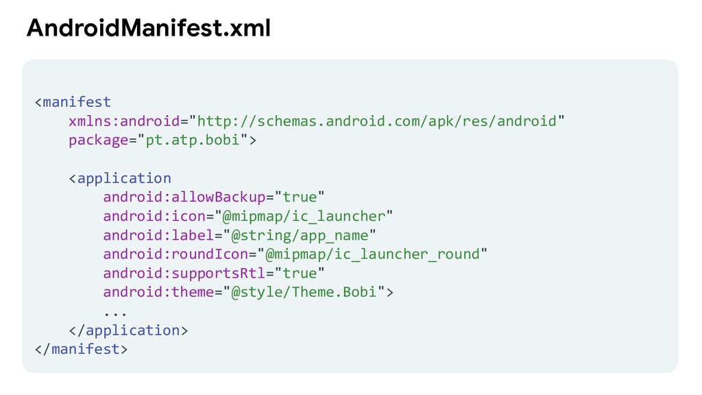 "AndroidManifest.xml <manifest xmlns:android=""ht..."