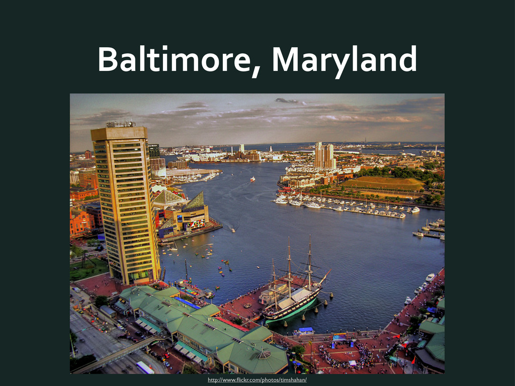 Baltimore,	