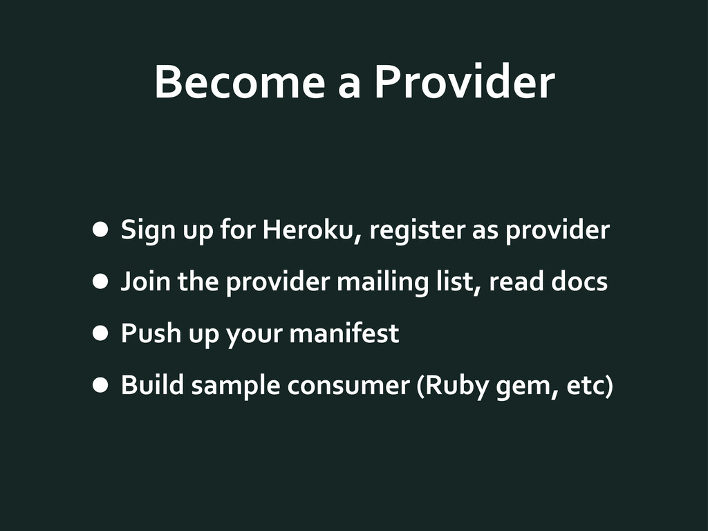 Become	