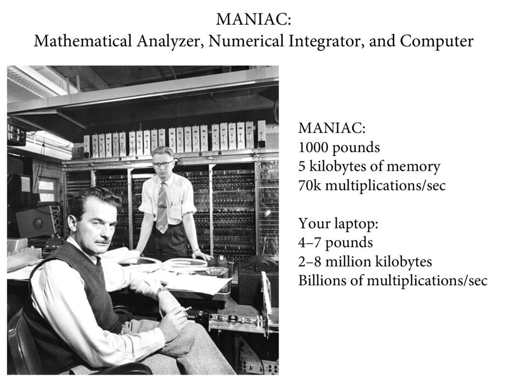 MANIAC: Mathematical Analyzer, Numerical Integr...