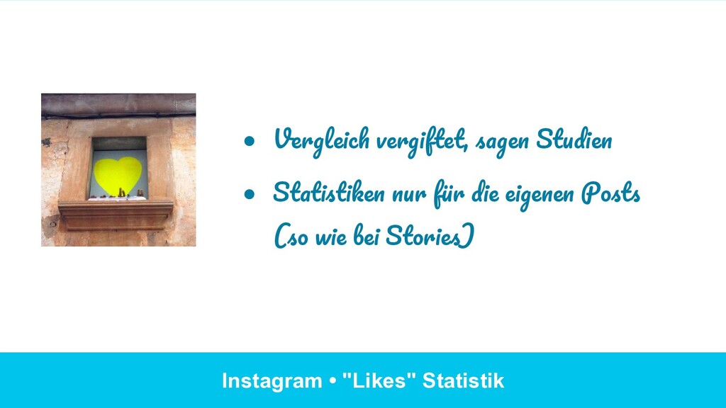 "Instagram • ""Likes"" Statistik ● Vergleich verg..."