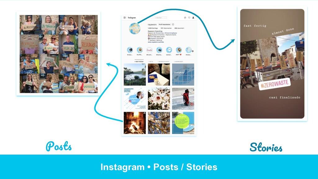 Instagram • Posts / Stories Posts Stories