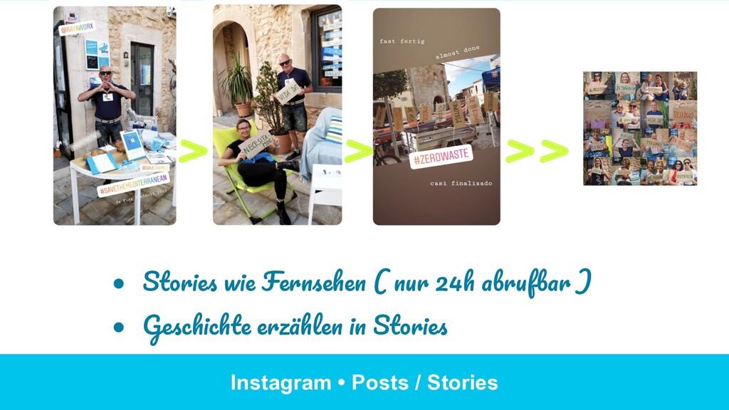 Instagram • Posts / Stories ● Stories wie Fern...