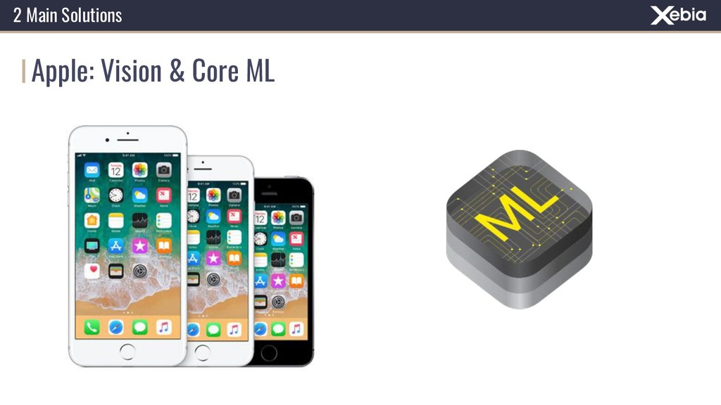 Apple: Vision & Core ML 2 Main Solutions