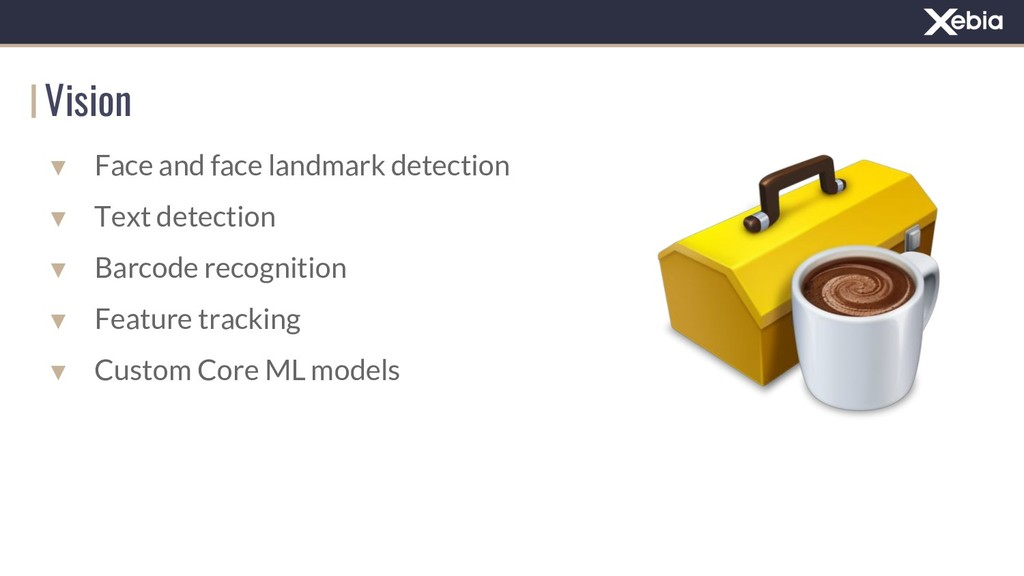 Vision ▼ Face and face landmark detection ▼ Tex...