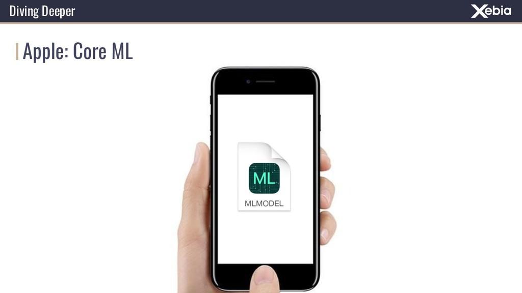 Apple: Core ML Diving Deeper