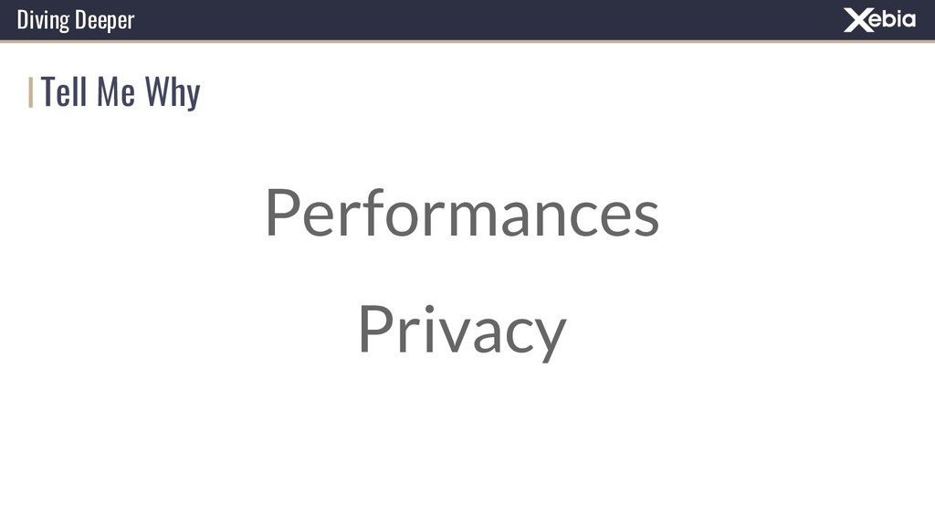 Tell Me Why Diving Deeper Performances Privacy