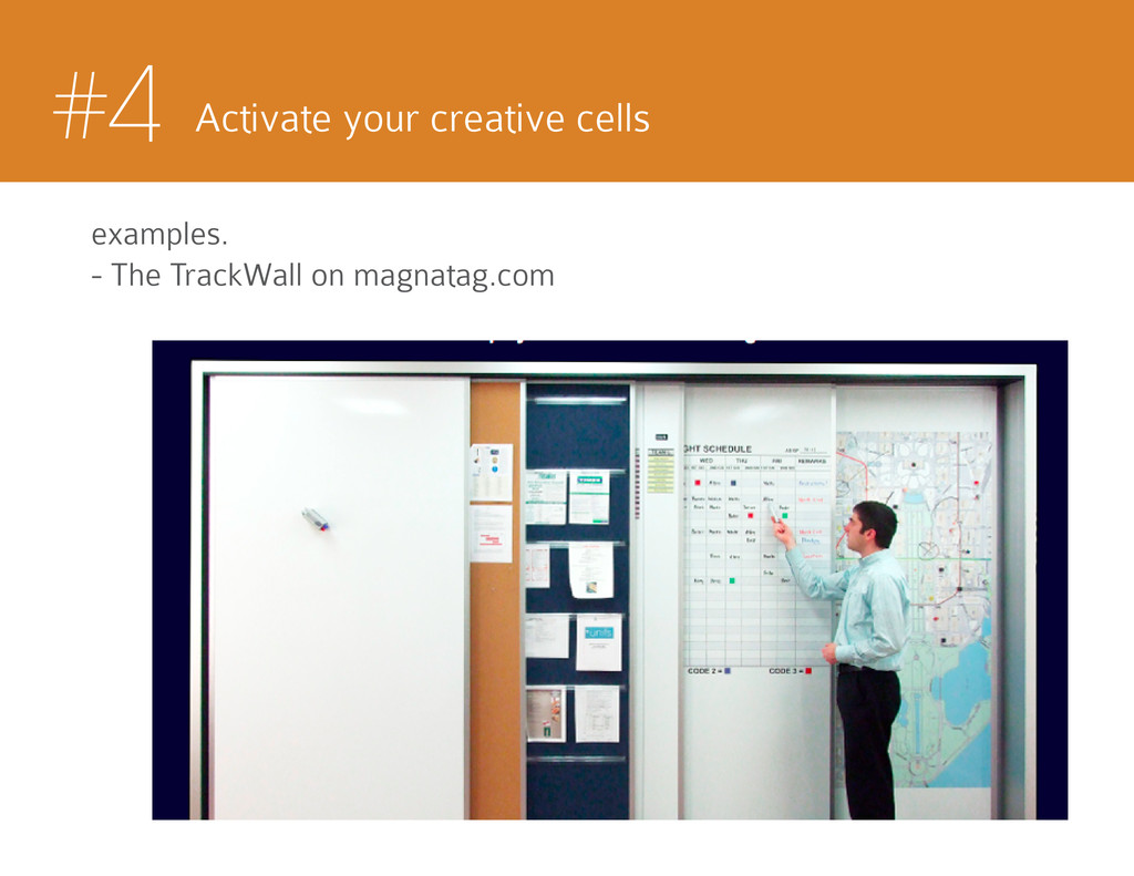 #4 Activate your creative cells examples. - The...