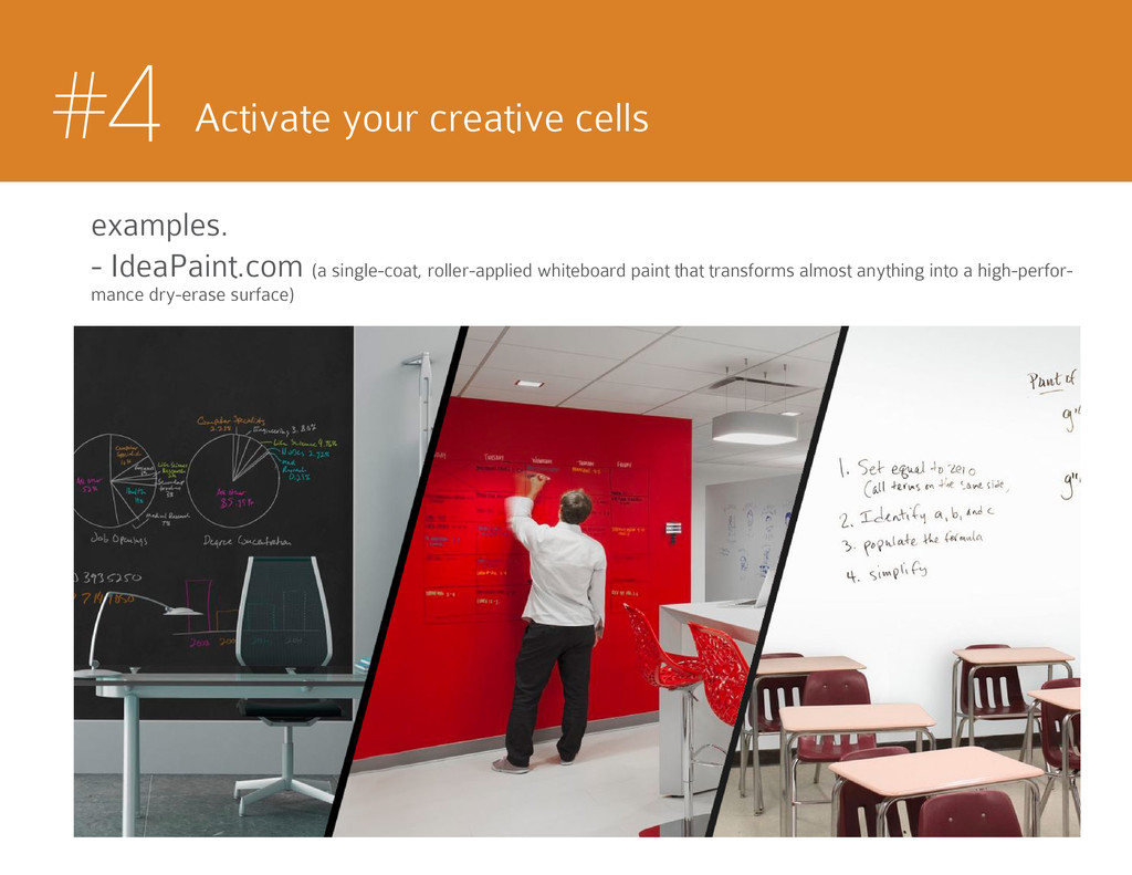 #4 Activate your creative cells examples. - Ide...