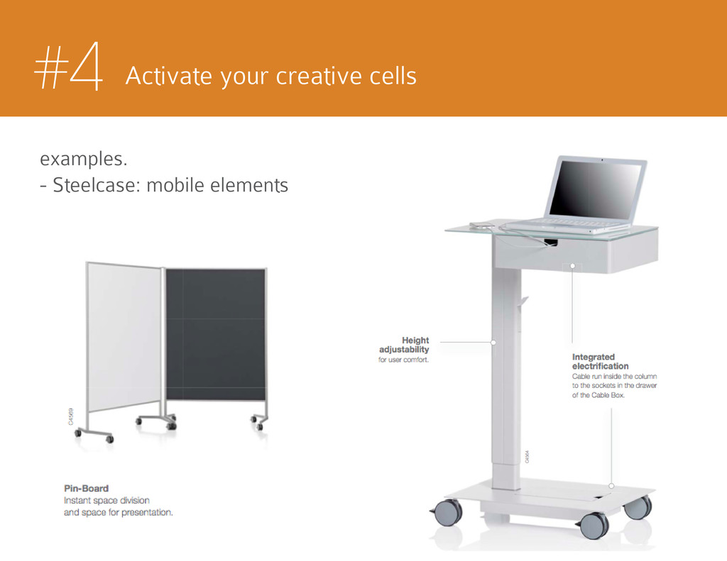 #4 Activate your creative cells examples. - Ste...