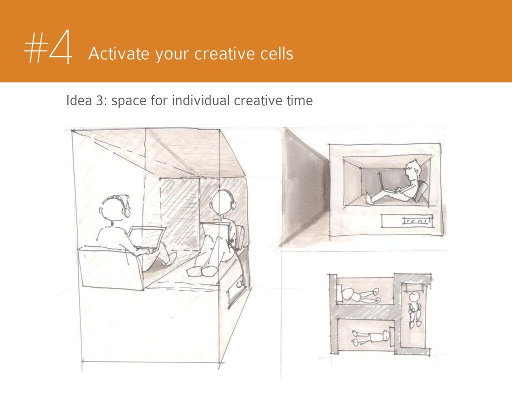 #4 Activate your creative cells Idea 3: space f...