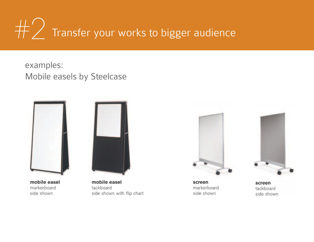 #2 Transfer your works to bigger audience examp...
