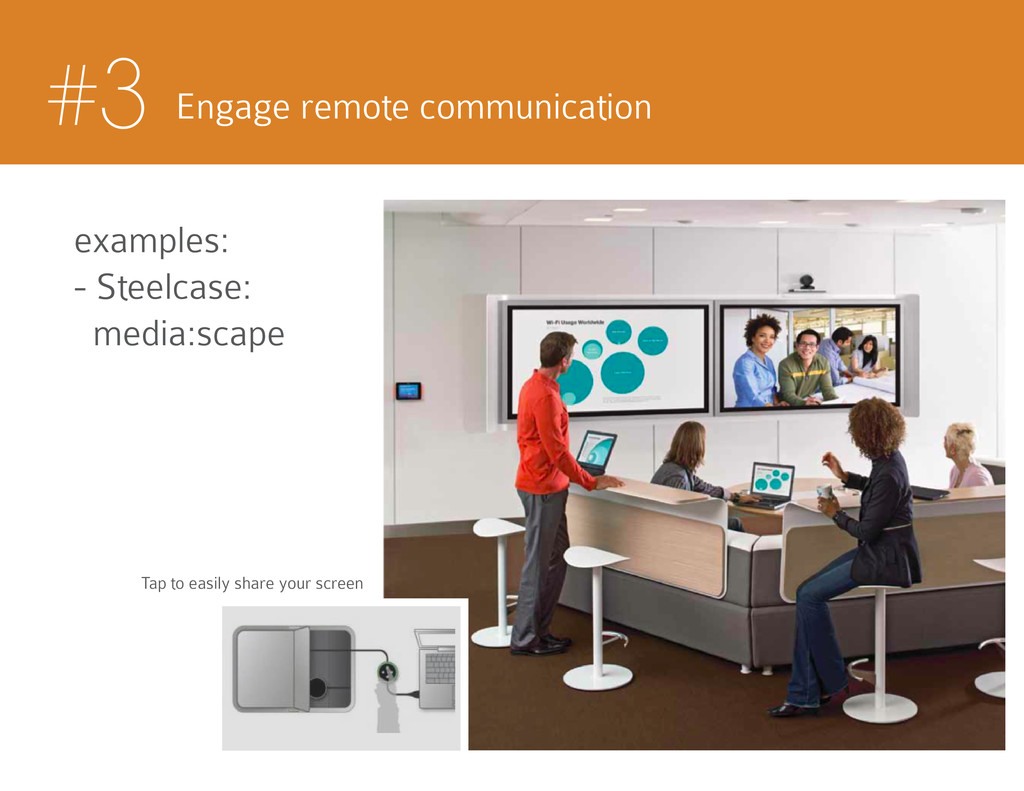 #3 Engage remote communication examples: - Stee...