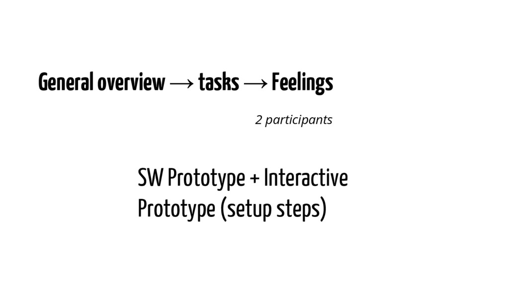General overview → tasks → Feelings 2 participa...